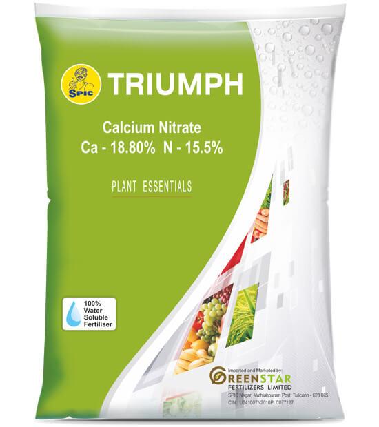 SPIC Triumph (Calcium Nitrate) (Ca 18.80% N 15.5%)